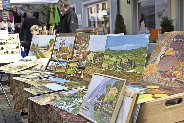Am Sonntag ist wieder Kunsthandwerkermarkt