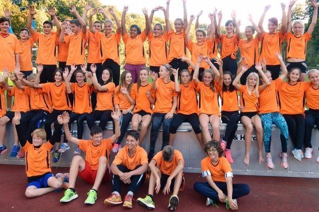 Leichtathletik-Nachwuchs glänzt beim Vergleichskampf der südbadischen Bezirke