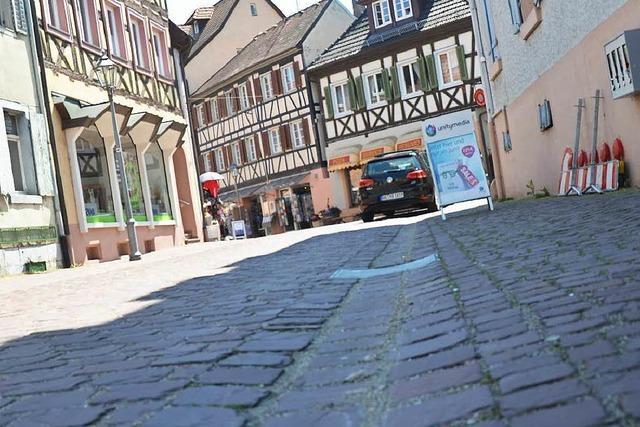 Kein Schritttempo in der Ettenheimer Altstadt