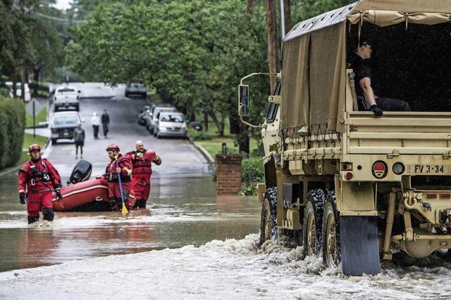 Südosten der USA steht unter Wasser