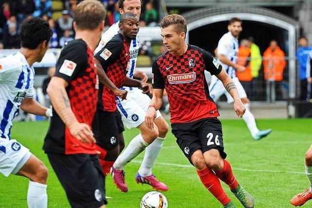 Maximilian Philipp will Leistungsträger beim SC werden