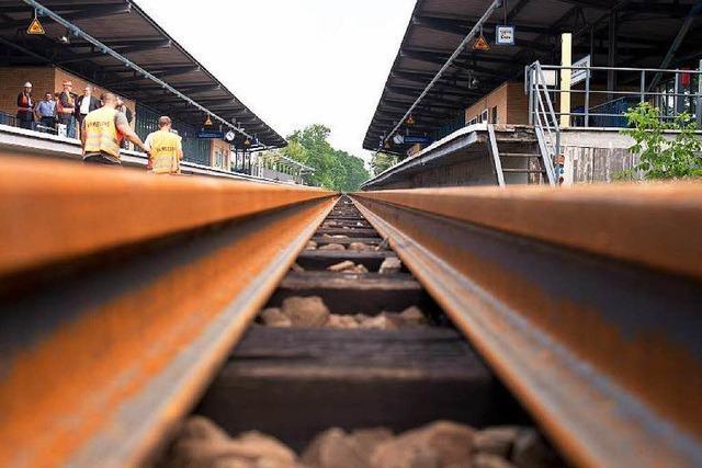 Bauarbeiten an Rheintalbahn: Zugausfälle zwischen Emmendingen und Denzlingen