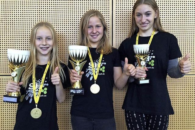 Wagenstadter Trio räumt bei Meisterschaft ab