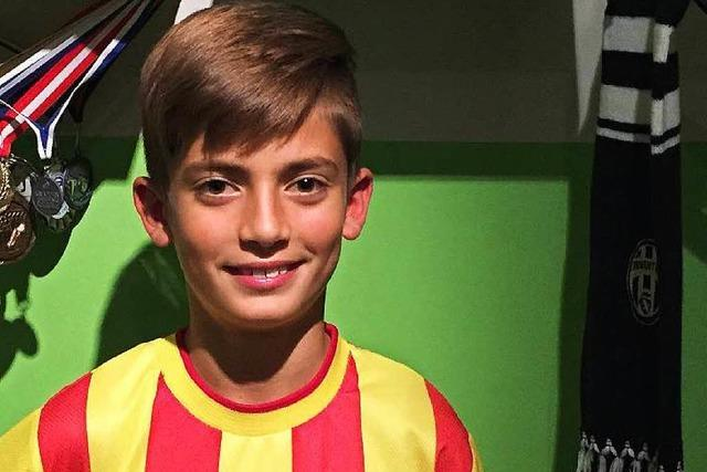 Schopfheimer Junge für Kindertor des Monats nominiert