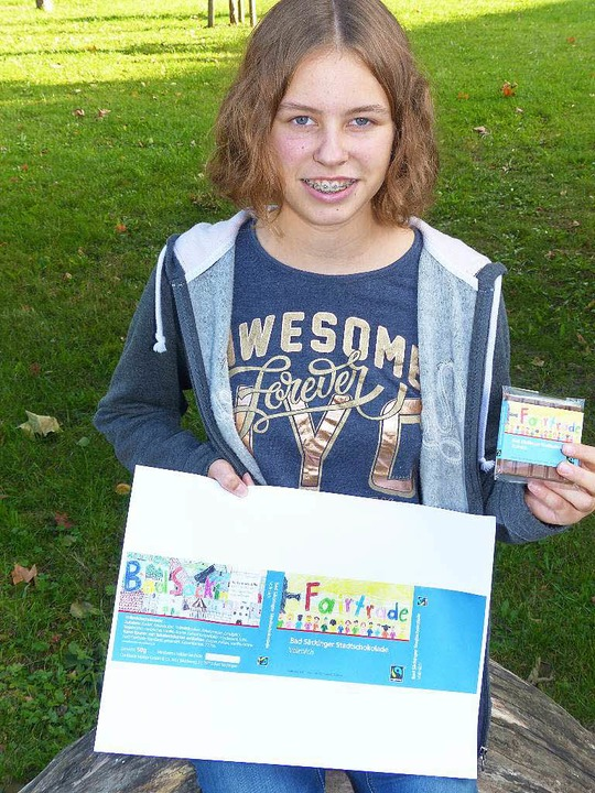 Gewinnerin Julia Tonne (13) aus Oberhof    Foto: Marion Rank
