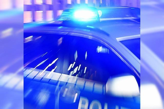 Polizisten mussten in Deckung gehen
