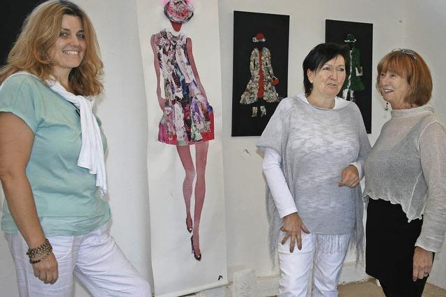 Drei Künstlerinnen, ein Atelier