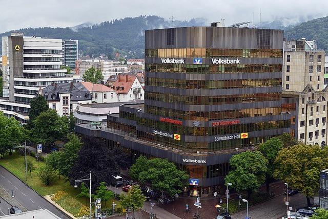 Volksbank will Zentrale und des benachbarte Hotel Rheingold abreißen