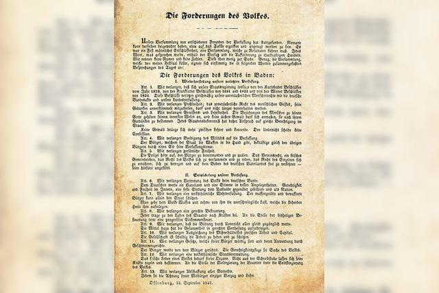 Das politische Potenzial von 1847 hat sich heute weitgehend erschöpft