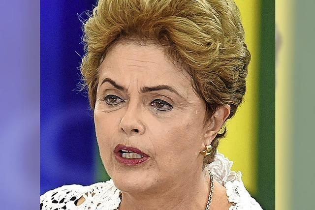 Auch gegen Dilma Rousseff wird ermittelt