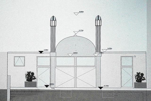 Tiengener Moschee kriegt Kuppel und zwei Minarette