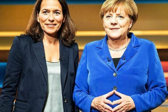 Merkel bei Anne Will: Es gibt keinen Aufnahmestopp