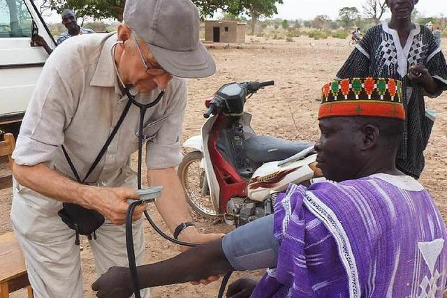 Medizinische Entwicklungshilfe in Burkina Faso