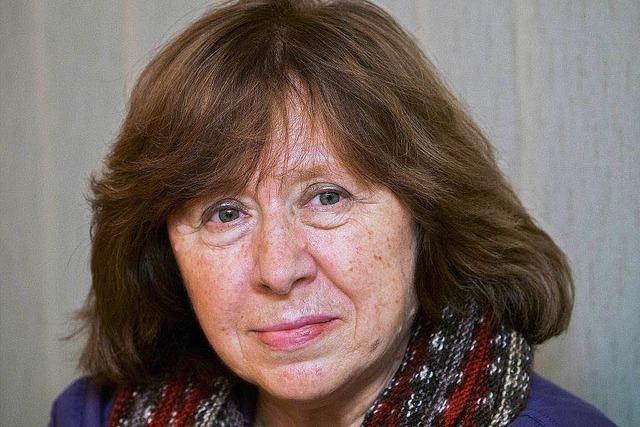 Swetlana Alexijewitsch erhält Literaturnobelpreis