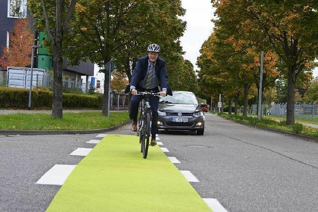 Neue Radschutzstreifen in Offenburg stoßen auf Skepsis