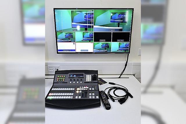 Medienzentrum der Unibibliothek bietet moderne Technik
