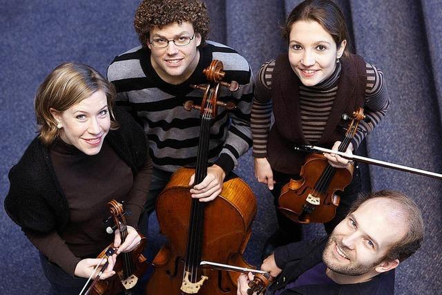 Amaryllis-Streichquartett und Klarinettisten Raphael Schenkel in Müllheim