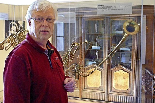 Trompete kommt zu Ehren in der Trompeterstadt