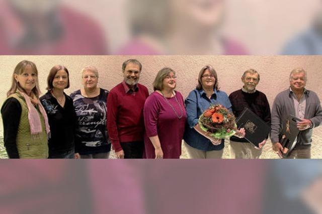 Bötzinger Kirchenchor mit neuer Vorstandsriege
