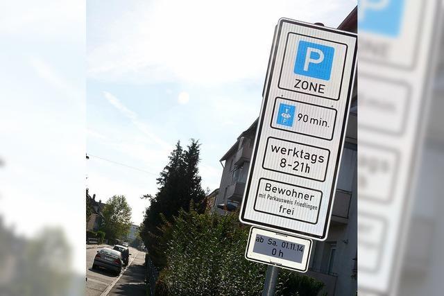 Parkhaus wird noch nicht richtig angenommen