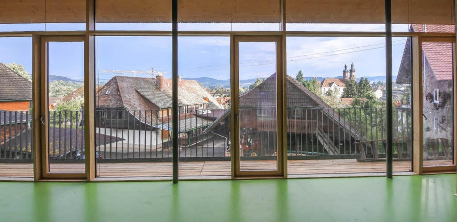 Bau mit   hohem architektonischem Ansp...orstlicher Hauptstützpunkt St. Peter.   | Foto: ZVG