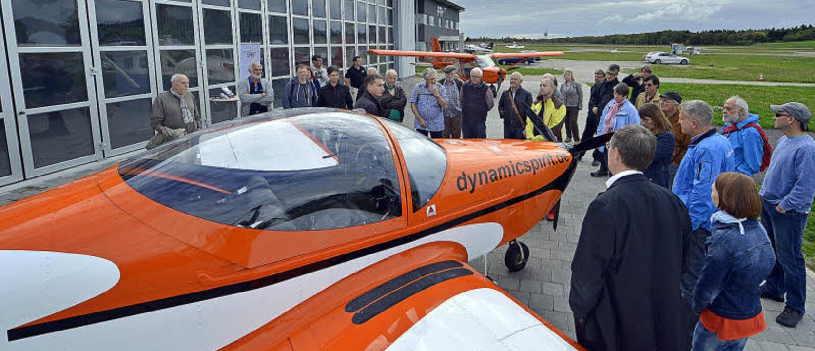 Dynamic Spirit fliegt mit Ultraleichtflugzeugen und bildet Piloten aus.   | Foto: Michael Bamberger (2)