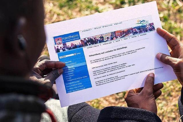 Regeln für Flüchtlinge: Lob und Häme für Hardheim