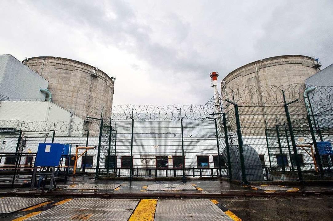 Ältester Atommeiler Frankreichs: Das KKW Fessenheim  | Foto: AFP