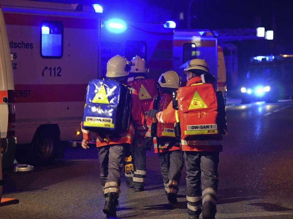 Einsatz in Schwörstadt  | Foto: Martin Eckert