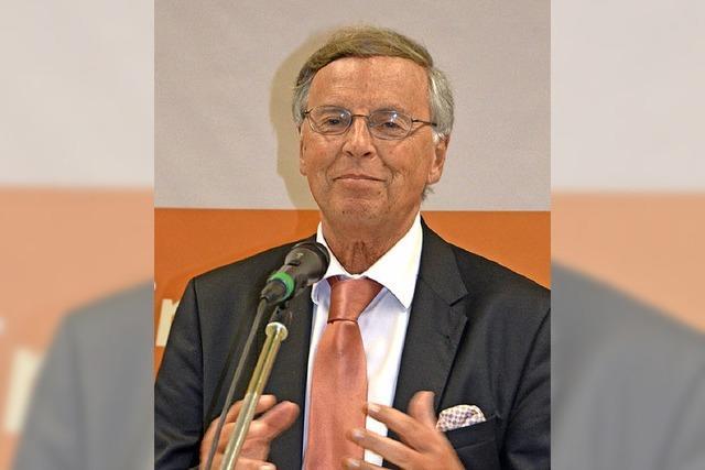 Wolfgang Bosbach zu Gast beim CDU-Kreisverband Waldshut in Wallbach