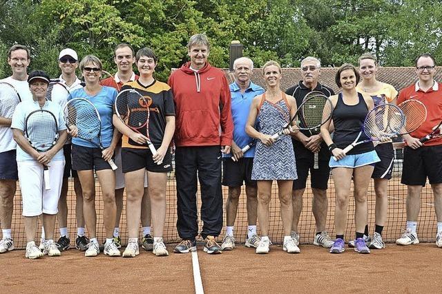 Favoritensiege beim Tennisverein Kenzingen