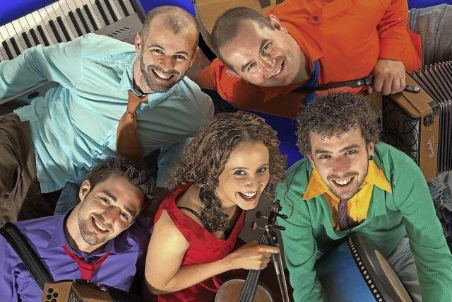 Beoga-Quintett mit frischem Sound im Salmen