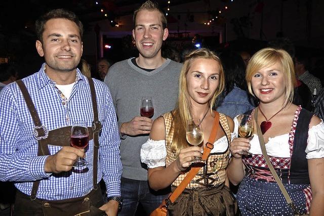 BEim Weinfest in Diersburg