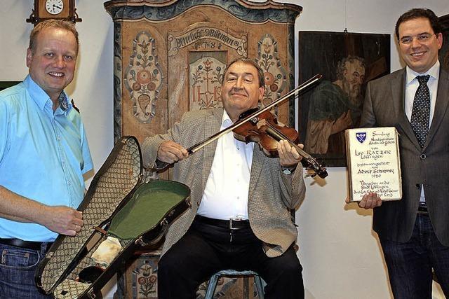 Geige von Albert Zahn