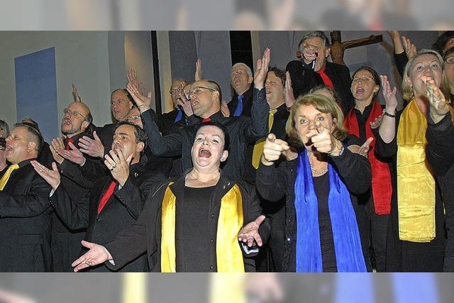 Gospelchor Unterhaching reißt alle mit