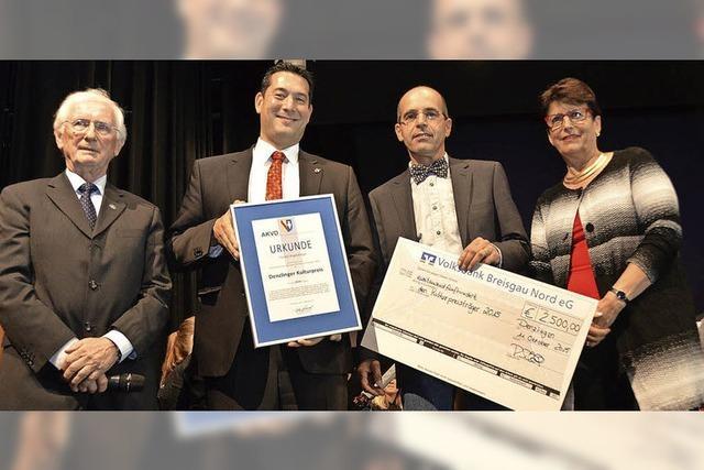 Kulturpreis für Denzlinger Dirigent