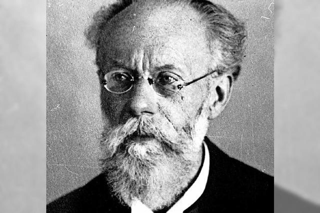 Abend über Otto Raupp: Ein Namensgeber, den heute viele nicht mehr kennen