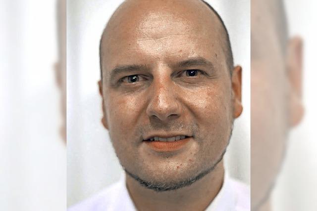 Stefan Räpple tritt für die AfD an