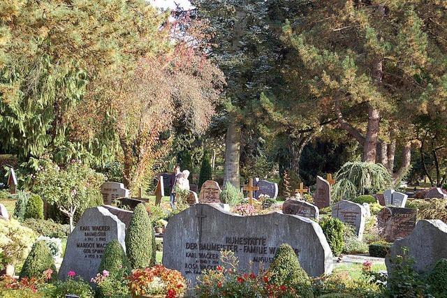 Sterben soll in Offenburg teurer werden
