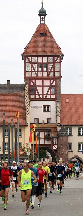 Raus aus Bräunlingen. Die historische ...adt ist seit jeher Start- und Zielort.  | Foto: Dieter Reinhardt