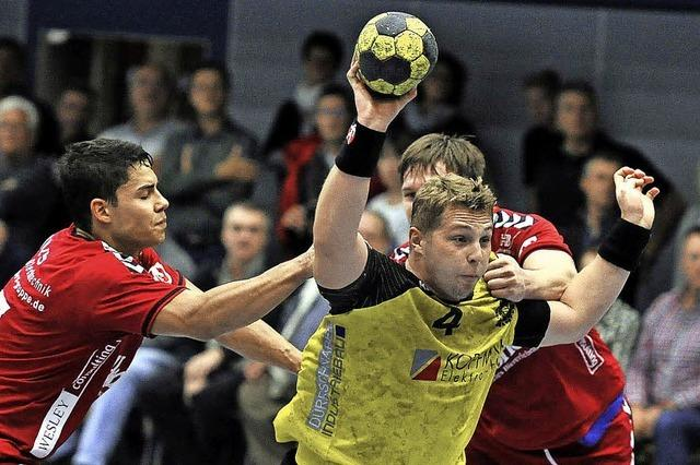 Teninger Handballer kämpfen robuste Herrenberger nieder