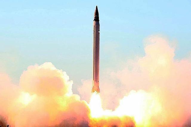 Eine neue Rakete