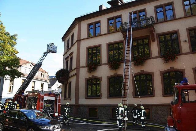 Gesamtwehr Waldkirch demonstriert Einsatzfähigkeit