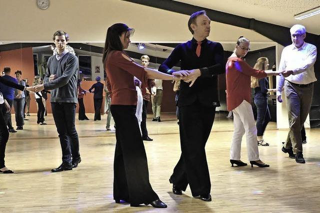 Tanzen liegt im Trend