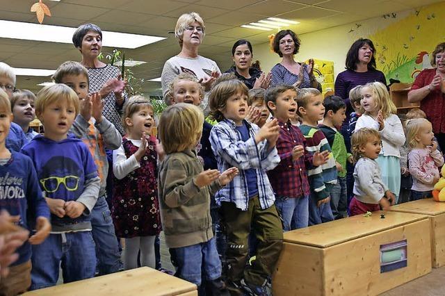 Deutscher Chorverband zeichnet Müllheimer Kindergarten aus