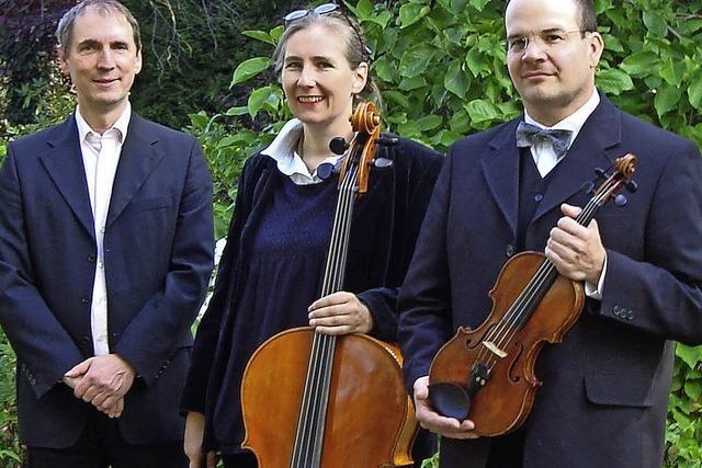 Trio All' Ongarese spielt für den guten Zweck