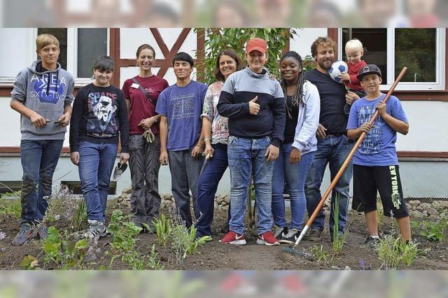 Gärtnern als Symbol für Jugendhilfe