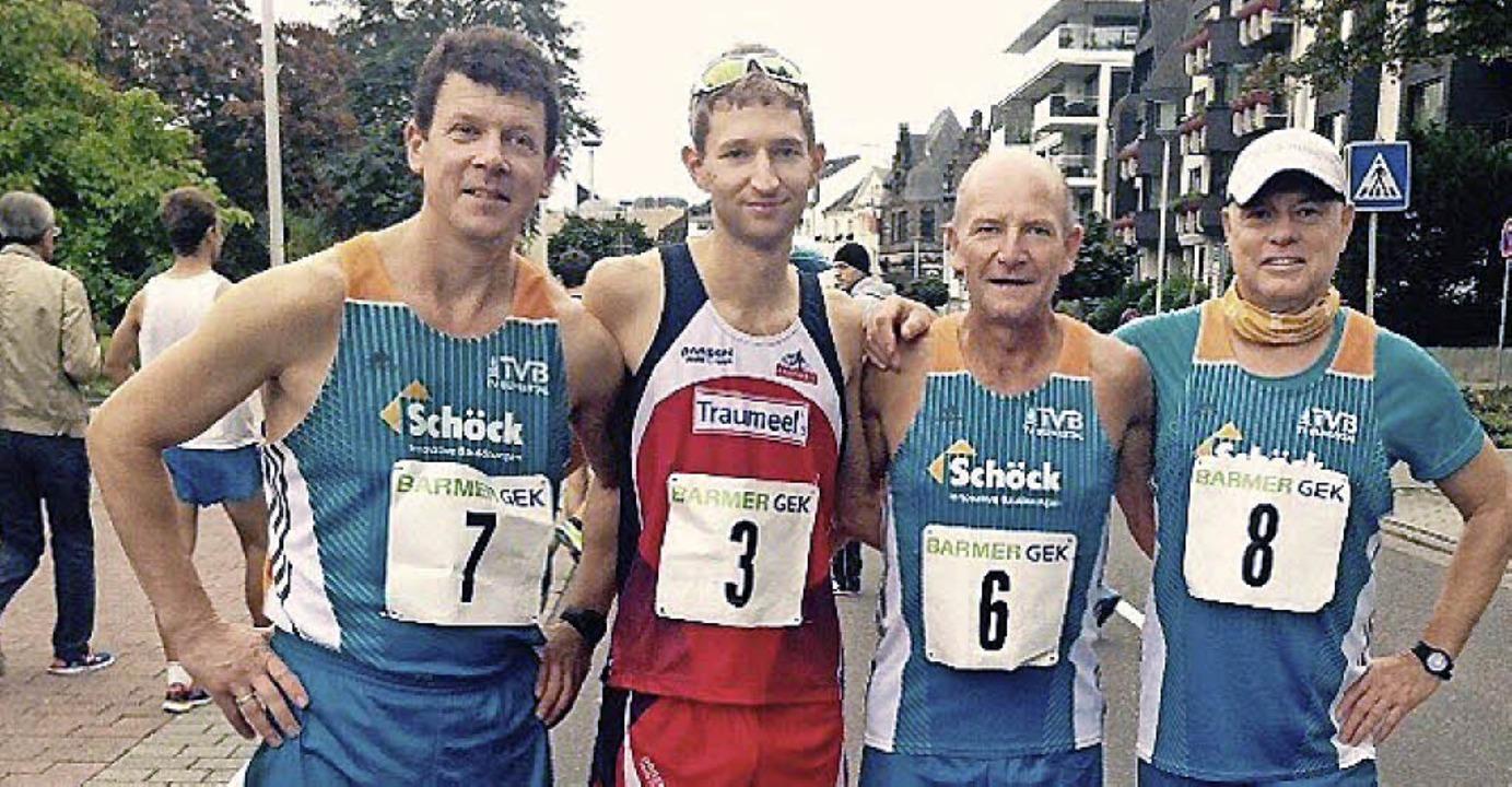 <BZ-FotoAnlauf>strassengehen: </BZ-Fot...ann und   Klaus Dietsche (von links).   | Foto:  Verein