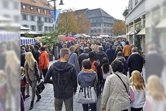 Herbstfest macht den Handel froh