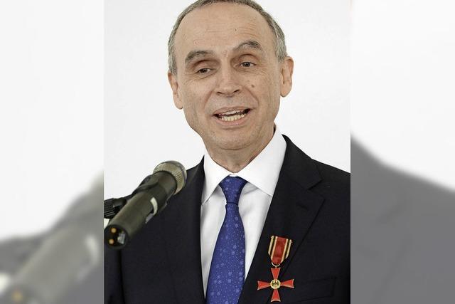 Bundesverdienstkreuz für den Biologen Nikolaus Pfanner